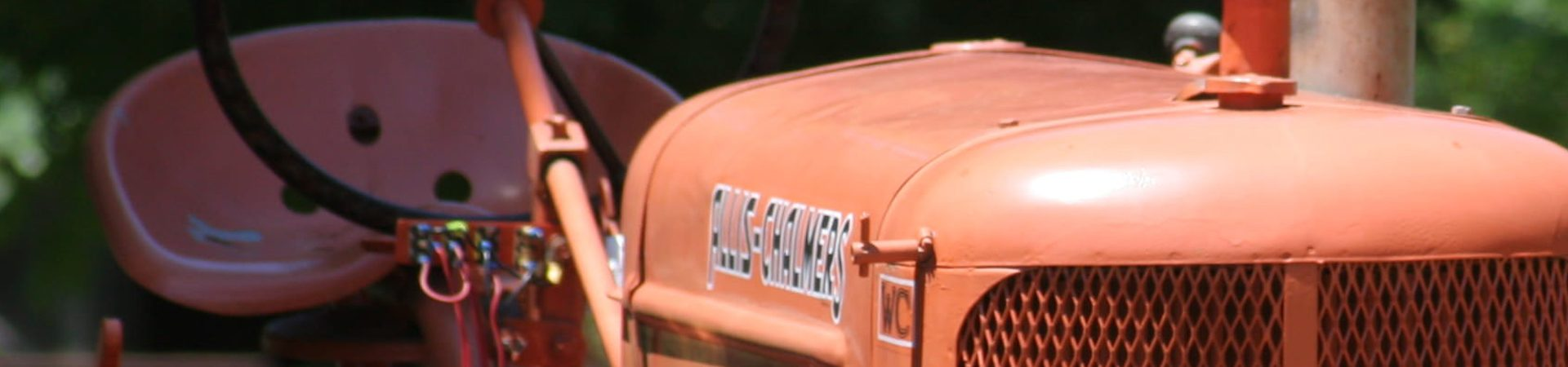 Allis-Chalmers Tractor - Story